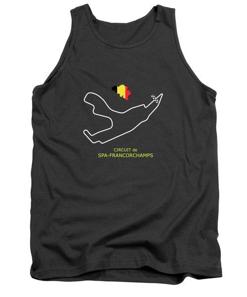 Circuit De Spa-francorchamps Tank Top