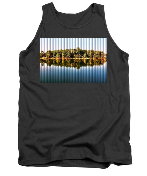 Tank Top featuring the photograph When Nature Reflects - The Slat Collection by Bill Kesler