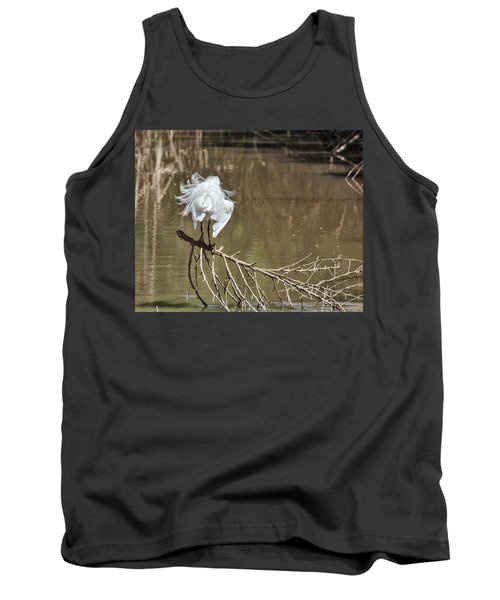 Tank Top featuring the photograph Fluff Time by Bill Kesler