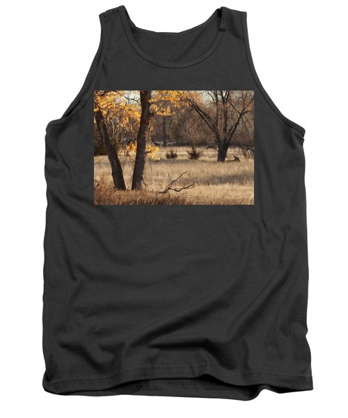 Tank Top featuring the photograph Shades Of Autumn by Bill Kesler