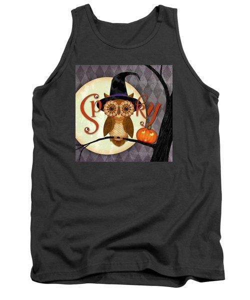 Spooky Owl Tank Top