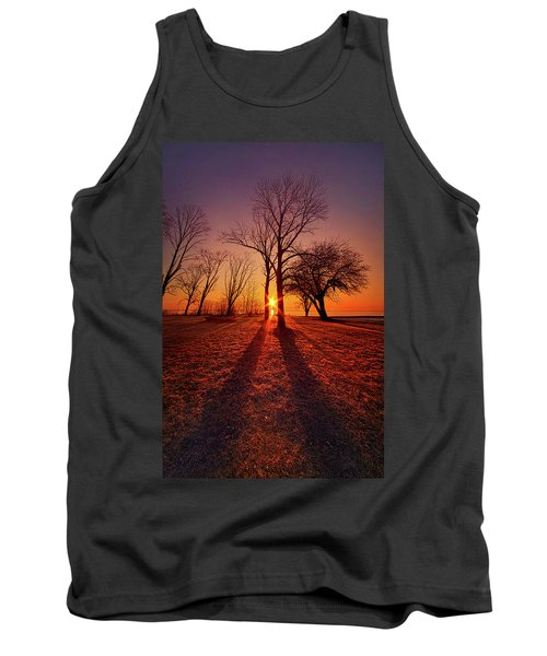 Tank Top featuring the photograph As Sure As The Sun Will Rise by Phil Koch