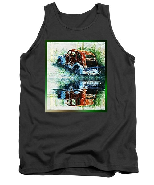 As Time Goes By. . . Tank Top by Hartmut Jager