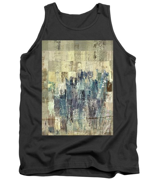 Tank Top featuring the painting Ascension - C03xt-159at2b by Variance Collections