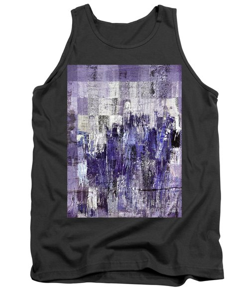 Tank Top featuring the painting Ascension - C03xt-166at2c by Variance Collections