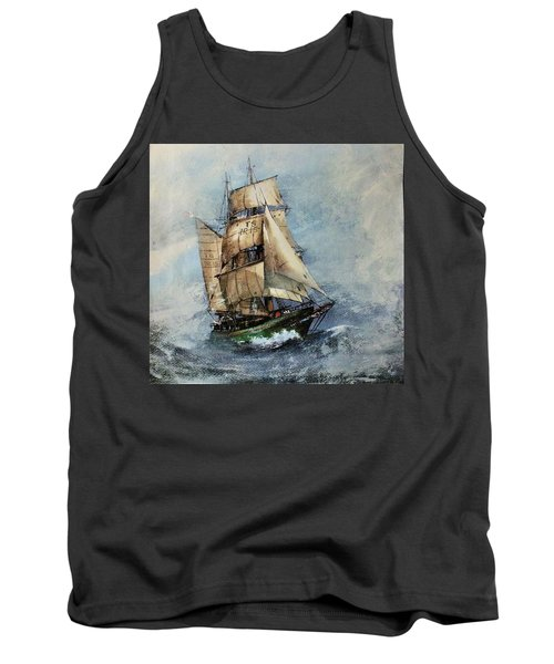F 827 Asgard Storm Off Galway. Tank Top
