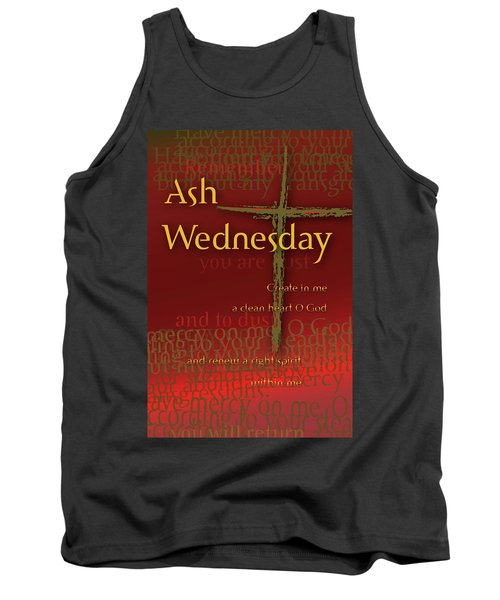 Ash Wednesday Tank Top