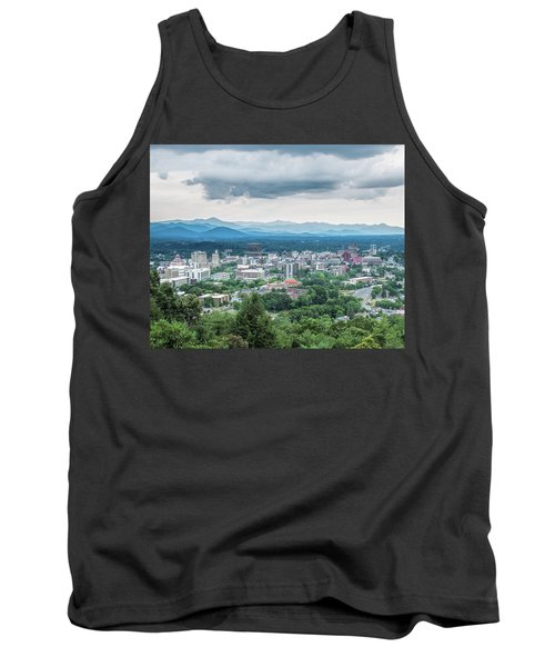 Asheville Afternoon Cropped Tank Top