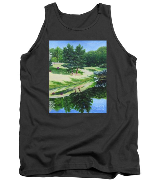Asheville Reflections Tank Top by Anne Marie Brown