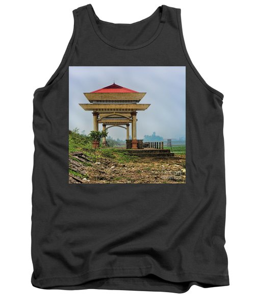 Asian Architecture I Tank Top by Chuck Kuhn