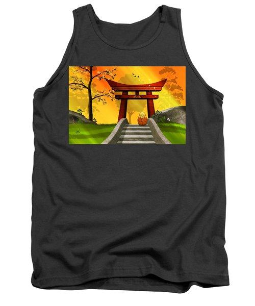 Asian Art Chinese Spring Tank Top by John Wills
