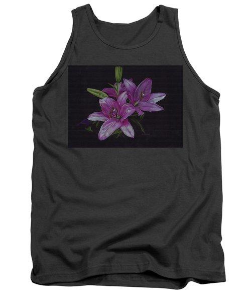 Asian Lillies Tank Top