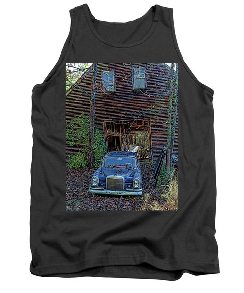 Asleep At The Wheel Tank Top