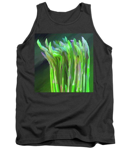 Asparagus Study 01 Tank Top by Wally Hampton