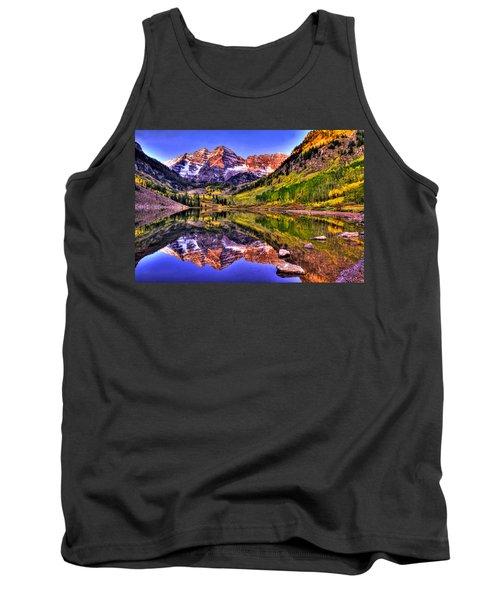 Aspen Wonder Tank Top by Scott Mahon