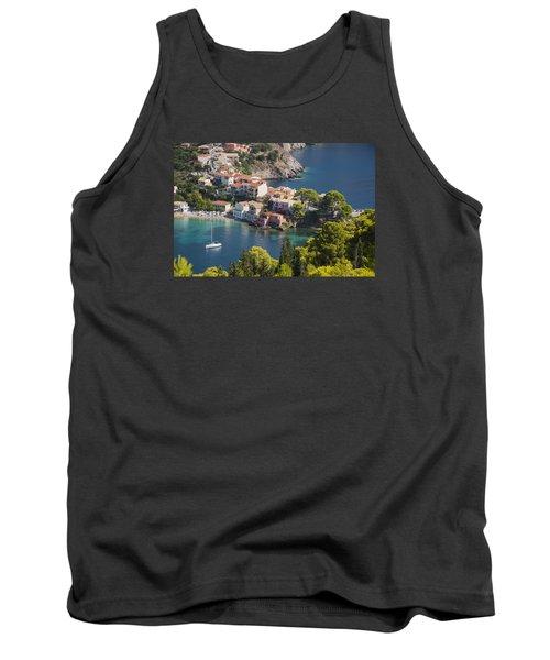Assos In Greece Tank Top by Rob Hemphill