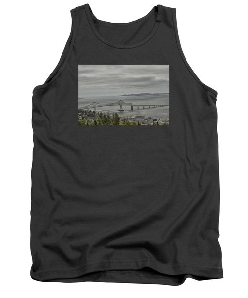 Tank Top featuring the photograph Astoria, Gateway To Oregon by Tom Kelly