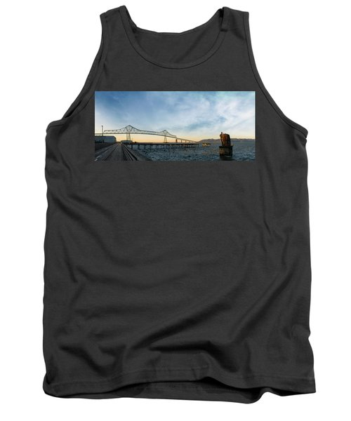 Astoria Megler Bridge By Riverwalk Panorama Tank Top