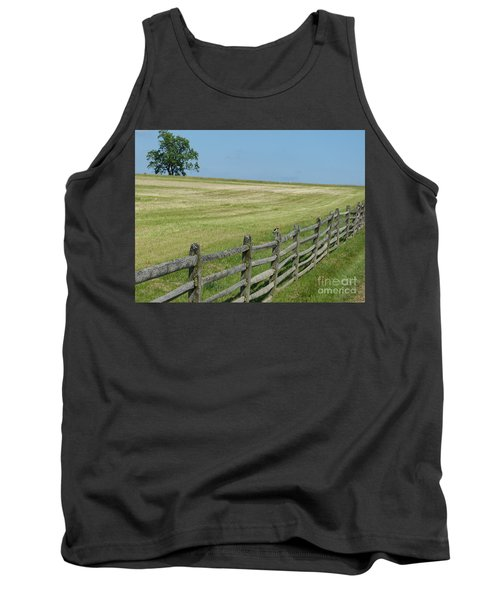 Tank Top featuring the photograph At Gettysburg by Donald C Morgan