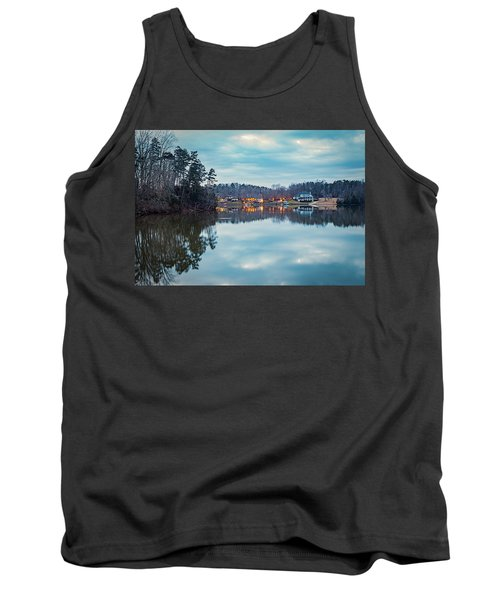 At Home On The Lake Tank Top