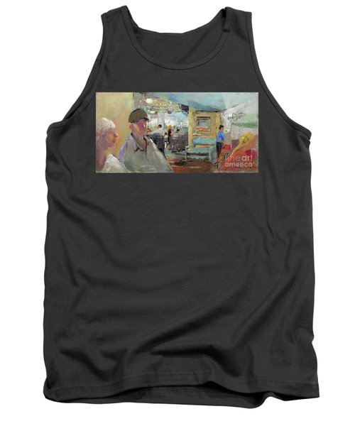 At The Restaurant Tank Top