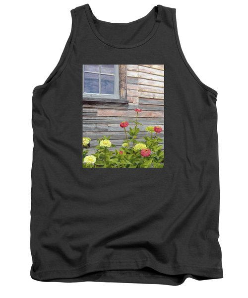 Tank Top featuring the painting At The Shelburne by Lynne Reichhart