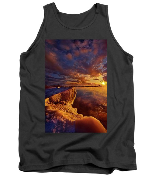 Tank Top featuring the photograph At World's End by Phil Koch