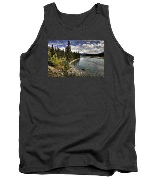 Athabasca River Tank Top by John Gilbert