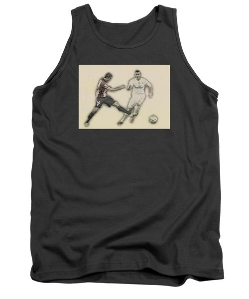 Athletic Club  Vs Real Madrid Tank Top by Don Kuing
