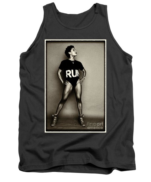Athletic Woman Tank Top