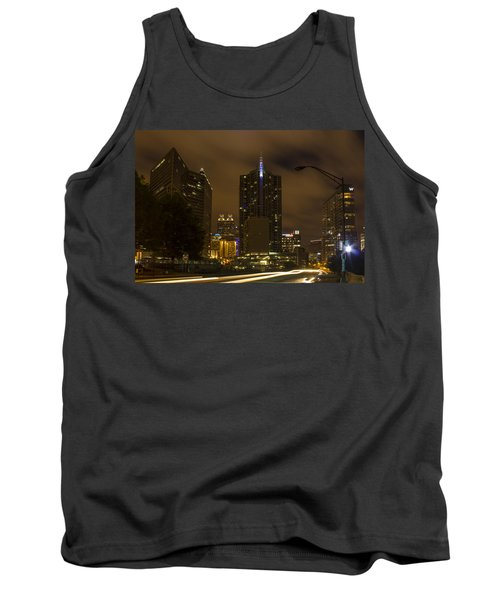 Atlanta Spring Street Lights Tank Top
