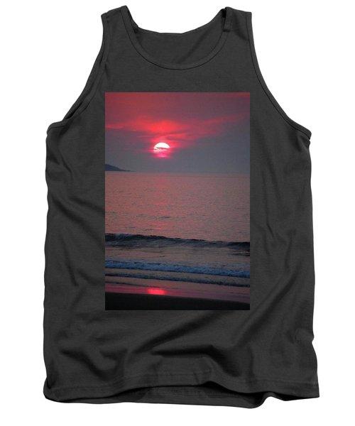 Atlantic Sunrise Tank Top by Sumoflam Photography