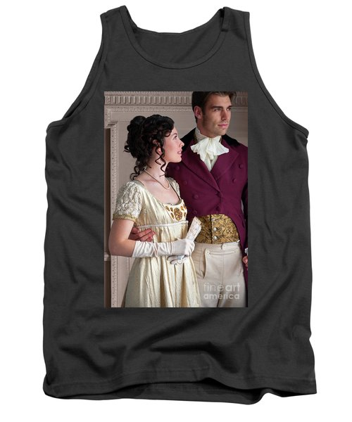 Attractive Regency Couple Tank Top