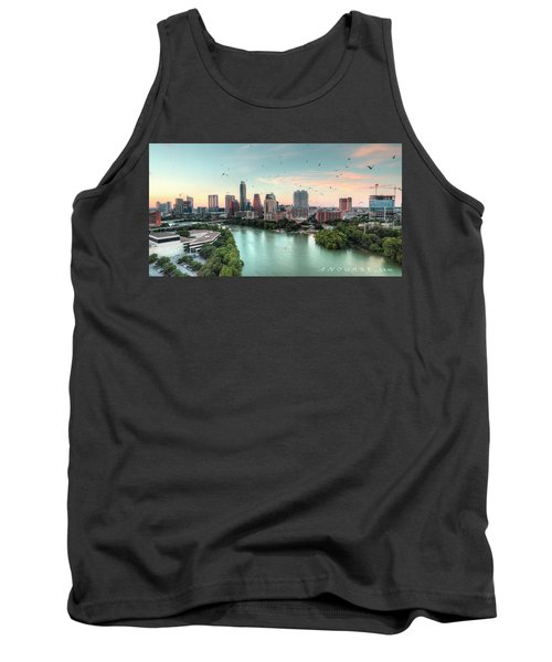 Atx Bats Tank Top by Andrew Nourse