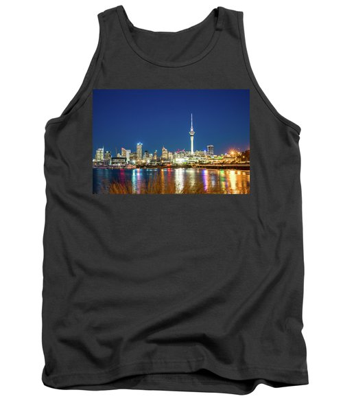 Auckland At Dusk Tank Top