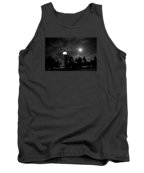 Tank Top featuring the photograph August Moon by Adria Trail