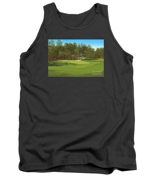 Augusta 11 And12th Hole Tank Top by Tim Gilliland