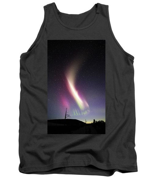 Auroral Phenomonen Called Steve 1 Tank Top