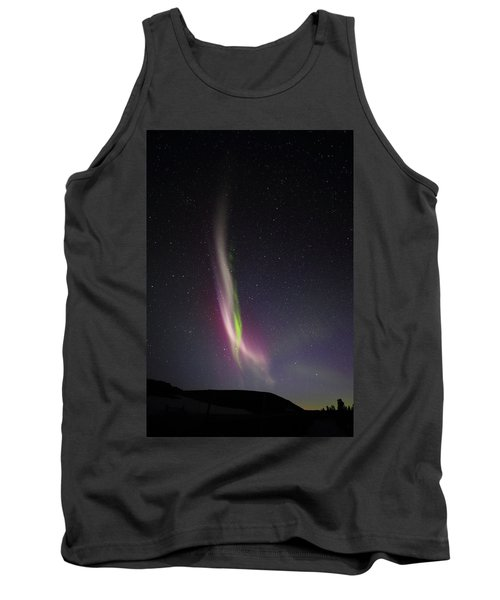 Auroral Phenomonen K Nown As Steve, 6 Tank Top