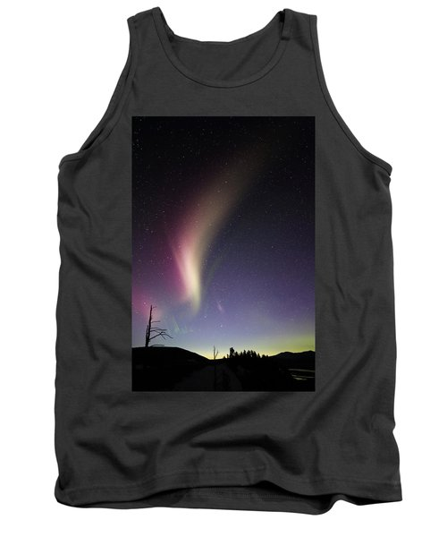 Auroral Phenomonen Known As Steve 2 Tank Top
