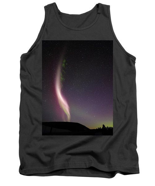 Auroral Phenomonen Known As Steve, 7 Tank Top