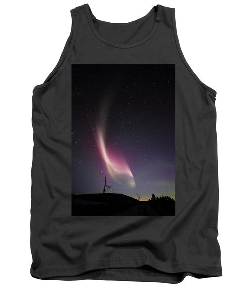 Auroral Phenomonen Knows As Steve, 4 Tank Top