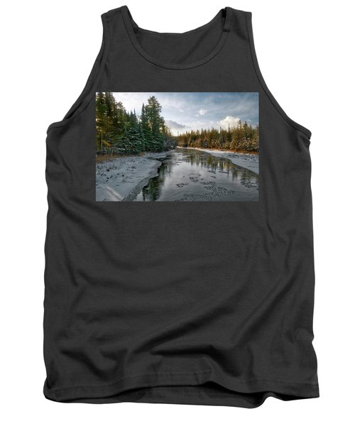 Ausable River 1282 Tank Top by Michael Peychich