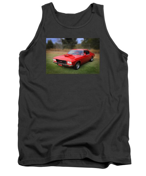 Tank Top featuring the photograph Aussie Muscle by Keith Hawley