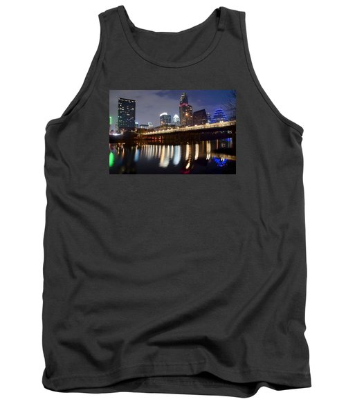 Austin From Below Tank Top by Frozen in Time Fine Art Photography
