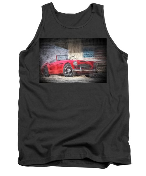 Austin Healey Chalk Study 4 Tank Top