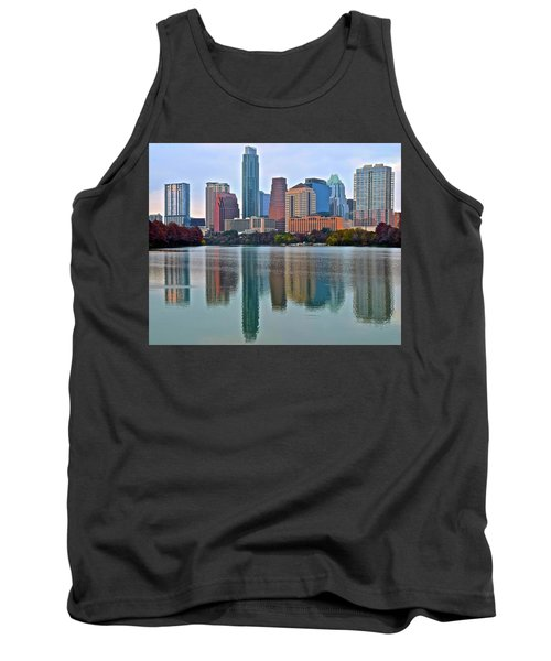 Austin Shimmer  Tank Top by Frozen in Time Fine Art Photography