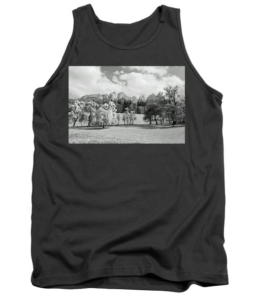 Tank Top featuring the photograph Austrian Landscape by Brooke T Ryan