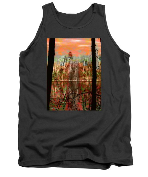 Autmn Waters Tank Top