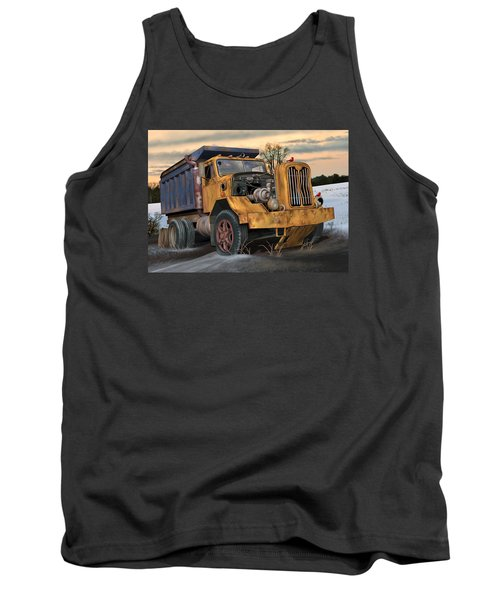 Autocar Dumptruck Tank Top by Stuart Swartz